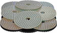 "Stadea 7"" Diamond Polishing Pads Kit For Terrazzo Concrete Marble Stone Granite"