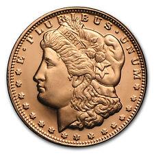1/4 oz Copper Round - Morgan Dollar (20 count tube) - SKU #87410