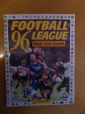 ENGLAND Football League 96 PANINI Album 1996 100% complete