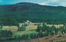Invercauld Castle and River Dee Aberdeenshire 1968 Postcard used VGC