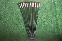 """Hunting 33"""" Carbon Arrows Turkey Feather Archery for Recurve Bow Changeable Tips"""