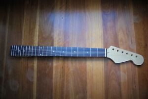 Fender Strat STYLE neck – Maple with Rosewood Fret Board – FREE Post