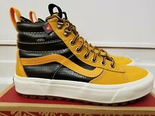 Vans Sk8-Hi MTE 2.0 DX Apricot/Black Waterproof leather Boots for Men
