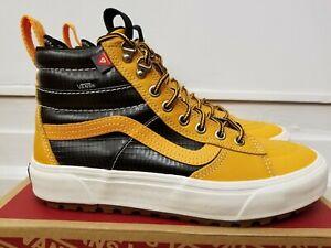 Vans Sk8-Hi MTE 2.0 DX Apricot/Black Waterproof leather Boots for Men