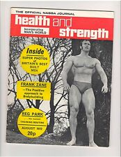 HEALTH and STRENGTH Vol 101 #8 bodybuilding muscle magazine/Brian Eastman 8-72