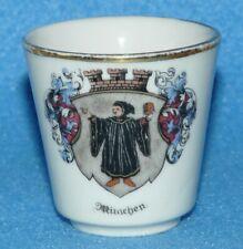 Münchner Kindl altes Schnapsglas