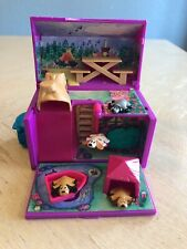 Vintage Pound Puppies Mini Camp Playset with 4 Animals