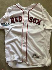 2018 Boston Red Sox Drew Pomeranz Game Worn Playoff Jersey MLB Authenticated