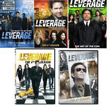 LEVERAGE (2008-12) Complete TV Series Season 1-5 DVD Bundle Set BRAND NEW