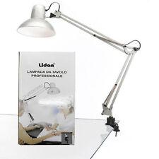LAMPADA DA TAVOLO PROFESSIONALE CON CLIP PER NAIL ART RICOSTRUZIONE UNGHIE GEL