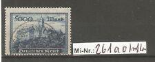 Deutsches Reich Mi-Nr.: 261 a sauber gestempelter Wert geprüft Infla