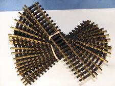 FLEISCHMANN ( 6005 ) LOT DE 20 RAILS DROITS 165mm EN LAITON POUR RESEAU HO
