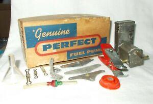 PERFECT FUEL PUMP & PARTS LOT   VINTAGE MODEL AIRPLANE ENGINE