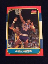 1986 FLEER BASKETBALL #29 JAMES EDWARDS