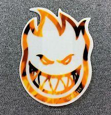 SpitFire Flame Bighead Skateboard Sticker 3in si