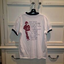 ROBBIE CUP 2009 SOCCER WHITE T SHIRT ADULT MEDIUM M - Excellent Condition