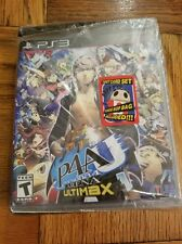 *NEW* PS3 Persona 4: Arena Ultimax (PlayStation 3) w/ Tarot Card & Teddie Bop