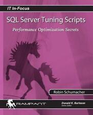 SQL Server Tuning Scripts: Performance Optimization Secrets (Paperback or Softba