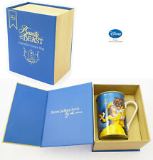 NEW Gift Boxed Disney Beauty And The The Beast Balcony Coffee Mug Belle Beast