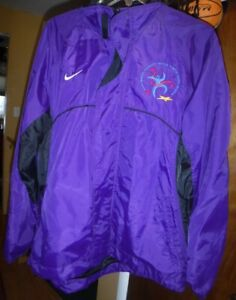 2001 Special Olympics World Winter Games Alaska Windbreaker Nike Jacket