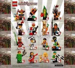 1 LEGO® MINIFIGUR -im DVB oder OVP- Ihrer Wahl aus der Serie 20 - LEGO #71027