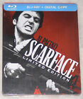 SCARFACE: STEELBOOK EDIZIONE - TRIPLO PLAY BLU-RAY + Dvd + ART FIGURINE