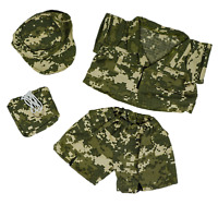 """Teddy Bear SPECIAL FORCES CAMO Costume CLOTHES Fit 14-18"""" Build-a-bear !!NEW!!"""