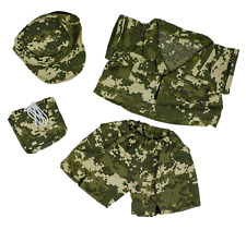 "Teddy Bear Special Forces Camo Costume Clothes Fit 14-18"" Build-a-bear !New!"