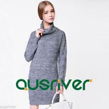 Winter Turtleneck Dresses for Women