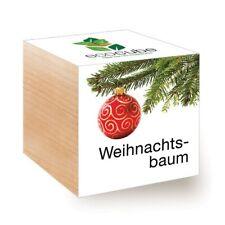 ecocube Holzwürfel Weihnachtsbaum Xmas Tree (Fichte)