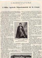 23 L OFFICE DEPARTEMENTAL DE LA CREUSE PUBLI-REPORTAGE 1932