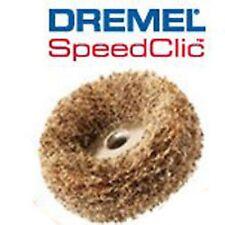 Dremel 511S EZ SpeedClic Abrasive Buffs Coarse/Medium S511 Speed Clic