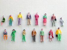 F6 H0- Convolute de 100 Pièce Figurines Voyageurs Passanten Debout