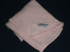 Hartstrings Newborn Pink Cable Knit Baby Blanket