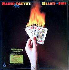 BAKER GURVITZ ARMY (GINGER BAKER) - HEARTS OF FIRE - ATCO LP - PROMO STICKER