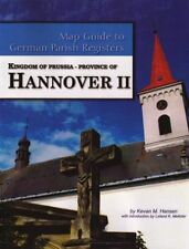 Prov of Hannover II Map Guide 2 German Parish Registers