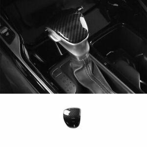 For Kia Sorento 2021 2022 Carbon Fiber Style Interior Gear Shift Knob Cover Trim