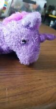 "Aurora Fantasy PURPLE UNICORN 8"" Flopsie Plush Floppy Stuffed Animal (B24)"