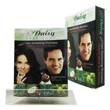 Daisy Herb Club Hair Darkening Shampoo 12ml (Black) 12 Packets 90% Herbal