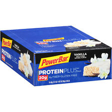 Powerbar Protein Plus Vanilla Bar 2.12oz 15Count (PACK OF 8)