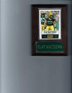 CLAY MATTHEWS PLAQUE GREEN BAY PACKERS FOOTBALL NFL   C