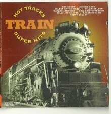 Hot Tracks: Train Super Hits CD - Willie Nelson Marty Stuart Cash Shaver Acuff