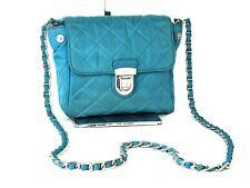 Auth PRADA Milano Light Blue Nylon Mini Shoulder bag Cosmetic Pouch Purse Italy