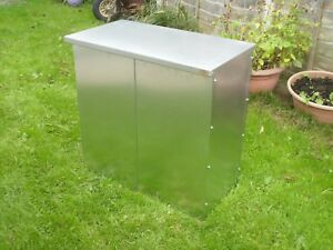 Double Galvanised steel feed bin Rat and Rodent proof