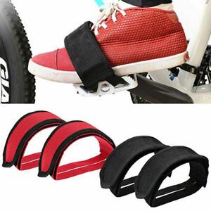 Anti-slip Cycling Bicycle Bike Foot Band Pedal Straps Toe Clips Pedal Strap Belt