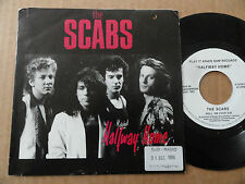 "DISQUE 45T DE  THE SCABS  "" HALFWAY HOME """