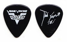 Vinnie Vincent Invasion Dana Strum Signature Black Guitar Pick - 1986 Tour KISS