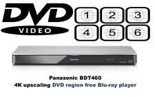 Panasonic DMP-BDT460 4K 3D multi región DVD 1-8 reproductor de Blu-Ray Divx N/B