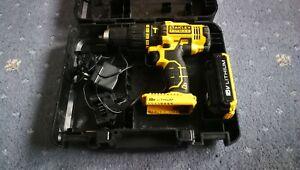 Stanley FatMax FMC626 18V 2Ah Cordless Combi Drill Driver + 1 WEAK BATTERY