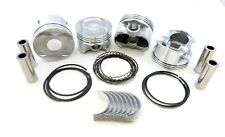 Upgraded Piston+Ring+Rod Bearing Kit 96-00 1.6L for Civic EX Del Sol Si Vtec Std